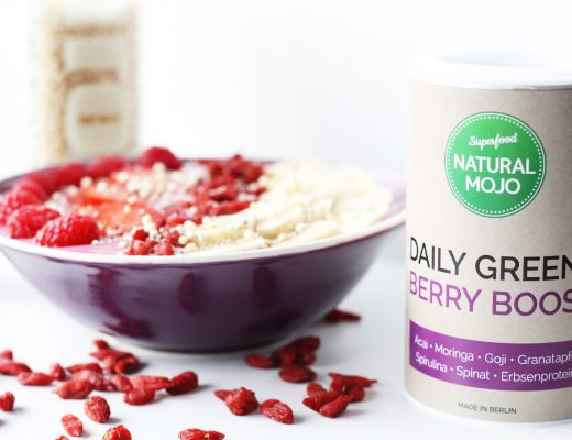 Superfood Natural Mojo Berry Boost